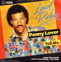 Cover Lionel Richie - Penny Lover