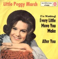 Cover Little Peggy March - (I'm Watching) Every Little Move You Make