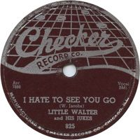 Cover Little Walter - I Hate To See You Go