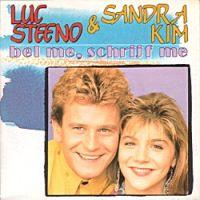 Cover Luc Steeno & Sandra Kim - Bel me, schrijf me