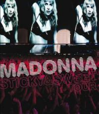Cover Madonna - Sticky & Sweet Tour