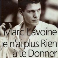 Cover Marc Lavoine - Je n'ai plus rien à te donner