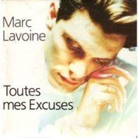 Cover Marc Lavoine - Toutes mes excuses (Chère amie)