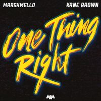 Cover Marshmello & Kane Brown - One Thing Right