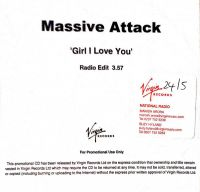 Cover Massive Attack - Girl I Love You
