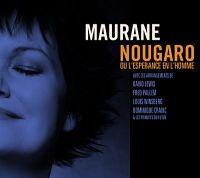 Cover Maurane - Nougaro ou l'espérance en l'homme