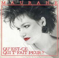 Cover Maurane - Qu'est-ce qui t'fait peur?
