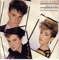 Cover Mecano - Barco a Venus