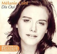 Cover Mélanie Cohl - Dis oui