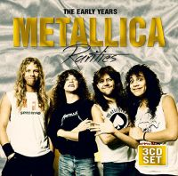 Cover Metallica - Rarities  - The Early Years