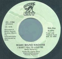 Cover Miami Sound Machine - I Want You To Love Me