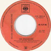 Cover Miami Sound Machine - Me enamore