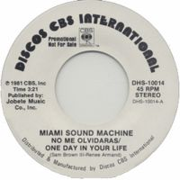 Cover Miami Sound Machine - No me olvidaras / One Day In Your Life