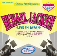 Cover Michael Jackson - Live In Japan