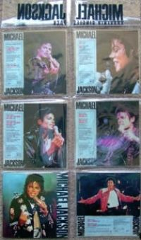 Cover Michael Jackson - Souvenir Single Pack