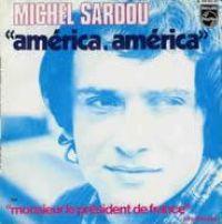 Cover Michel Sardou - América, América