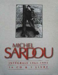 Cover Michel Sardou - Intégrale 1965-1995