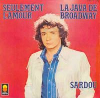 Cover Michel Sardou - La java de Broadway
