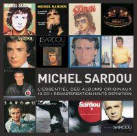 Cover Michel Sardou - L'essentiel des albums originaux