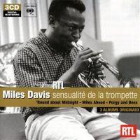Cover Miles Davis - 3 albums originaux: Sensualité de la trompette