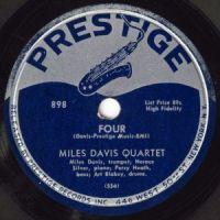 Cover Miles Davis Quartet - Four