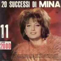 Cover Mina - 20 successi di Mina