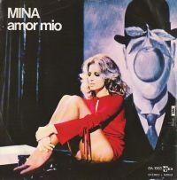 Cover Mina - Amor mio