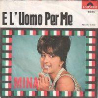 Cover Mina - E' l'uomo per me