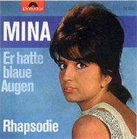 Cover Mina - Er hatte blaue Augen