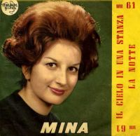 Cover Mina - Il cielo in una stanza
