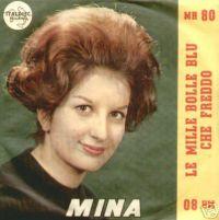 Cover Mina - Le mille bolle blu