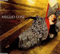 Cover Mina - Meglio così