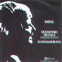 Cover Mina - Quand'ero piccola