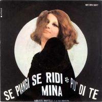 Cover Mina - Se piangi, se ridi