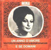 Cover Mina - Un anno d'amore