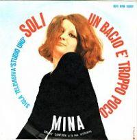 Cover Mina - Un bacio è troppo poco