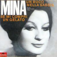 Cover Mina - Un buco nella sabbia