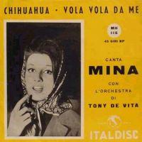 Cover Mina - Vola vola da me