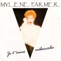 Cover Mylène Farmer - Je t'aime mélancolie