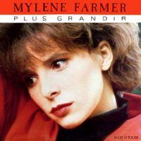 Cover Mylène Farmer - Plus grandir
