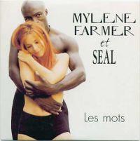 Cover Mylène Farmer et Seal - Les mots