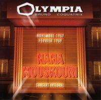 Cover Nana Mouskouri - Olympia Bruno Coquatrix - Novembre 1967 + Février 1969