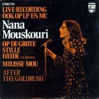 Cover Nana Mouskouri - Op de grote stille heide