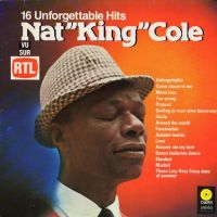 "Cover Nat ""King"" Cole - 16 Unforgettable Hits"