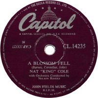 "Cover Nat ""King"" Cole - A Blossom Fell"
