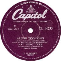 """Cover Nat """"King"""" Cole - Alone Too Long"""