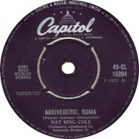 "Cover Nat ""King"" Cole - Arrivederci Roma"