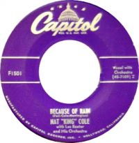 """Cover Nat """"King"""" Cole - Because Of Rain"""
