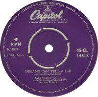"Cover Nat ""King"" Cole - Dreams Can Tell A Lie"