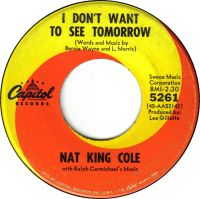 "Cover Nat ""King"" Cole - I Don't Want To See Tomorrow"